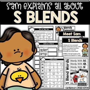 S Blends Activities
