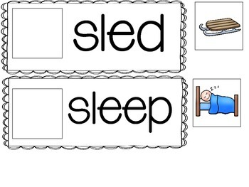 S Blends- 5 Interactive Activities