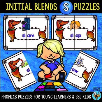 S Blends Activities | Puzzles