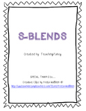 S Blends Activity Packet - NO PREP!