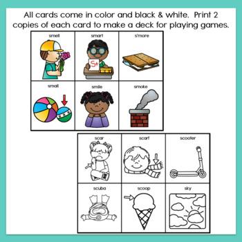 S Blends Articulation Cards Set