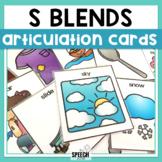 S Blends Articulation Cards