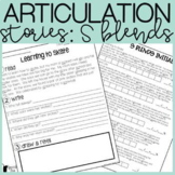 S Blends Articulation Stories with Language Component