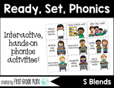 S Blends Interactive Activities (First Grade Phonics)