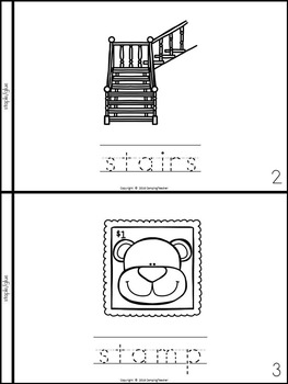 S Blends Books {8 Books to Create}