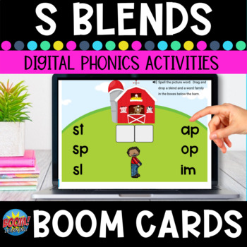S Blends Boom Cards