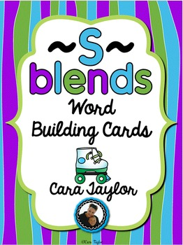 S Blends Building Cards ~ Phonics Activities