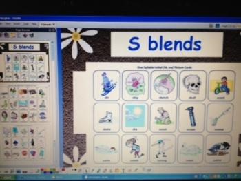 S Blends - CCSS RFS2b - grade 1 phonics - ActivInspire Flipchart