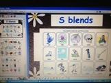 S Blends - CCSS RFS2b - grade K and grade 1 phonics - ActivInspire Flipchart
