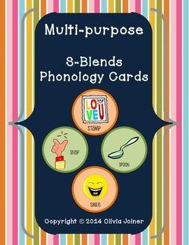 S- Blends Cards for game play