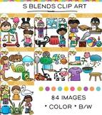 S Blends Clip Art Bundle