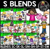 S Blends Clip Art Mega Bundle {Educlips Clipart}
