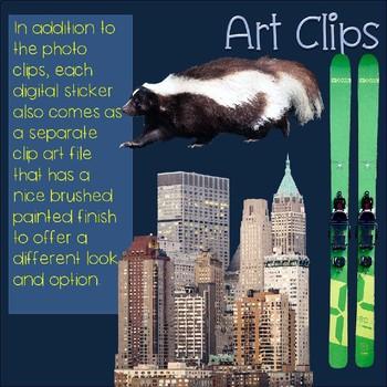 S Blends Clip Art SK Blend Real Clips Digital Stickers Photo & Artistic