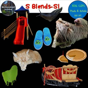 S Blends Clip Art SL Blend Real Clips Digital Stickers Photo & Artistic