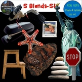 S Blends Clip Art ST Blend Real Clips Digital Stickers Photo & Artistic
