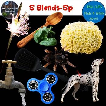 S Blends Clip Art Sp Blend Real Clips Digital Stickers Photo & Artistic