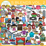 S Blends Clip Art Volume Two