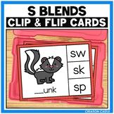 S Blends Clip Cards Center