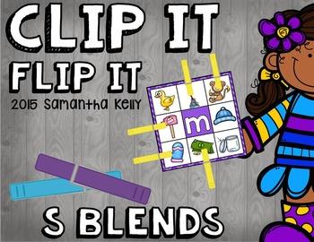S Blends Clip and Flip Station