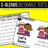 S Blends Decodable Readers and Passages