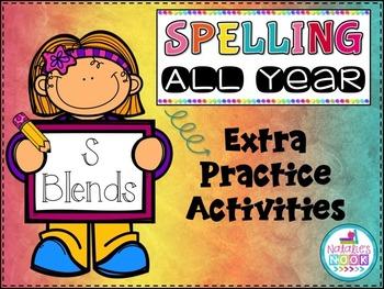 S Blends - Extra Practice Activities