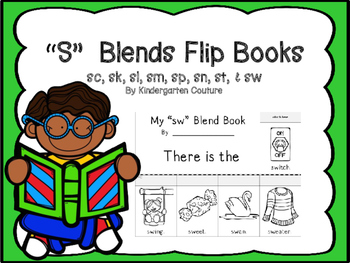 S Blends Flip Books