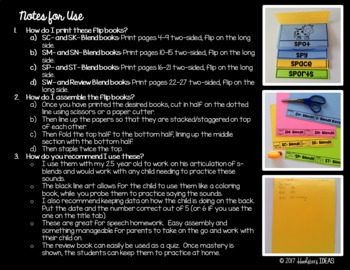 S-Blend Flip Books Pack