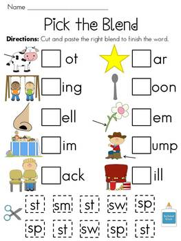 S Blends Worksheets Pack By Miss Giraffe Teachers Pay Teachers Geography Word What Has An Initial Blend S Blends Worksheets Pack