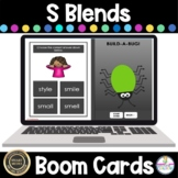 S Blends Game BOOM Cards  Phonics Activities