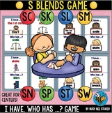 "S Blends Game ""I have, who has"""