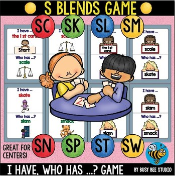 """S Blends Game """"I have, who has"""""""