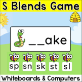 S Blends Game for Interactive Whiteboards, Tablets and Computers