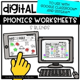 Distance Learning S Blends Worksheets for Google Classroom