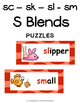 S Blends - Initial sc, sk, sl & sm Literacy Centers