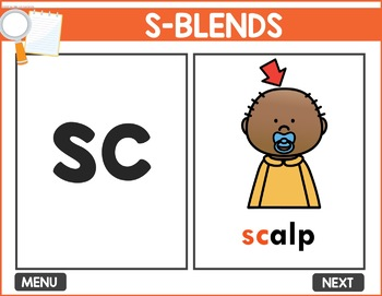S-Blends Interactive Game