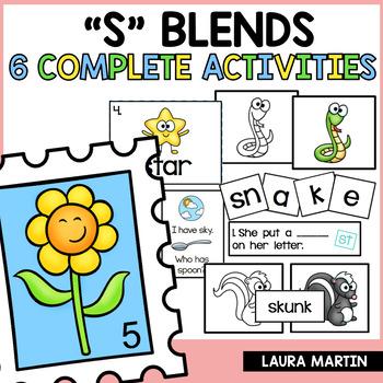 Blends-S Blend Activities