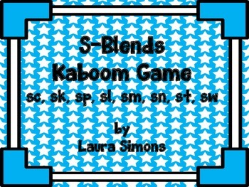 S-Blends Kaboom Game