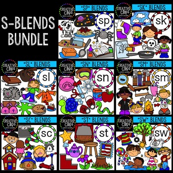 S-Blends Mega Bundle {Creative Clips Digital Clipart}