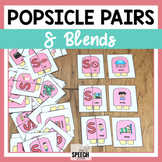 Popsicle S Blends Minimal Pairs Cards