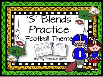 S Blends Football Theme