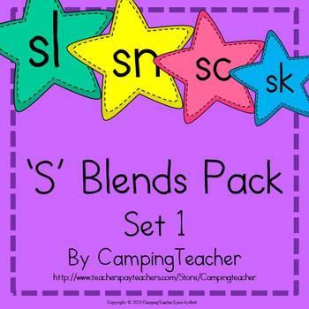 S Blends Pack Set 1 sl, sn, sc, sk