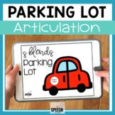 S Blends Parking Lot No Print Articulation Activity