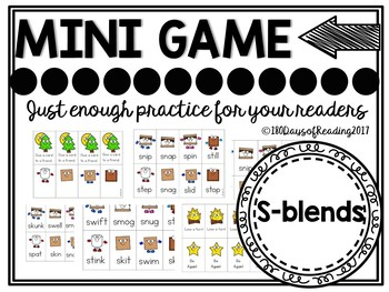S-Blends Phonics Game