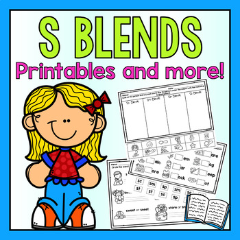 S Blends-Phonics Practice