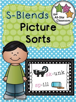 S-Blends Picture Sorts