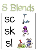 S Blends Poster (FREEBIE)
