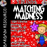 S Blends: Posters & Matching Game Cards!