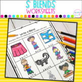 S Blends Printables and Anchor Charts