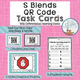 S Blends QR Code Task Cards