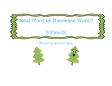 S Blends- Read Word or Nonsense Word?